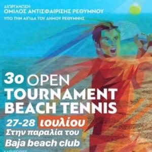 3o open beach tennis tournament