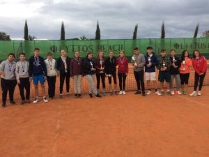 Αποτελέσματα Masters juniors