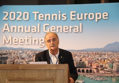 Εκλογή του Σπύρου Ζαννιά στο Δ.Σ. της Ευρωπαϊκής Ομοσπονδίας Τένις – Διπλή επιβράβευση της Ε.Φ.Ο.Α. από την Ευρωπαϊκή Ομοσπονδία.