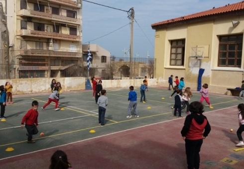 """Ολοκλήρωση προγράμματος """"Tένις στα σχολεία"""" για το σχολικό έτος 2018-2019"""