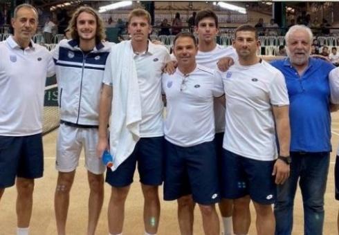Προκρίθηκε η Εθνική Ομάδα των Ανδρών στο World Group II του Davis Cup